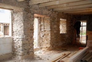 L 39 ane brasseur suivez les travaux for Restaurer mur en pierre interieur
